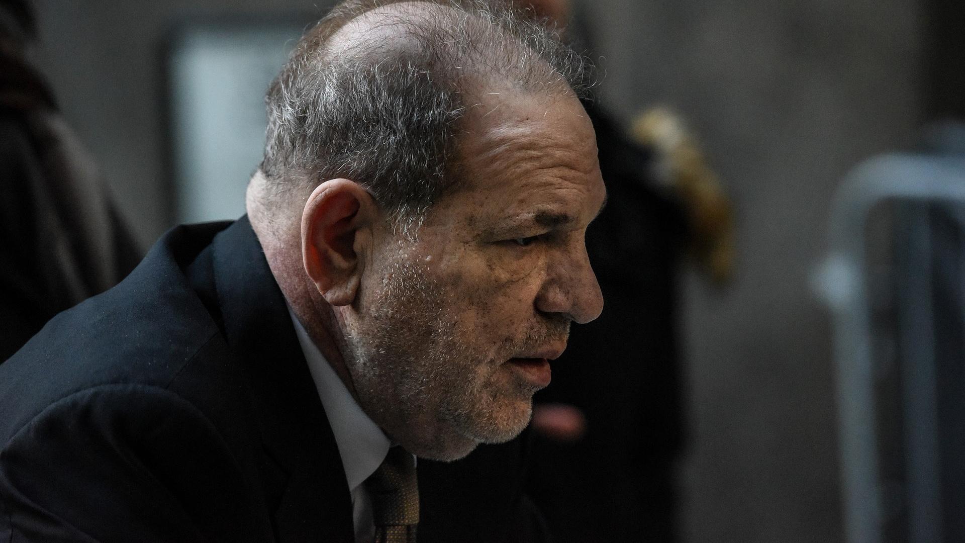 Börtönben van Harvey Weinstein